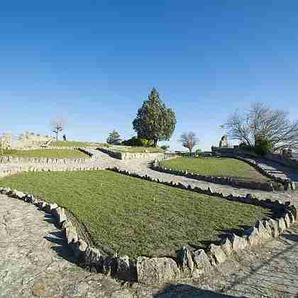 Fermoselle Castle's garden