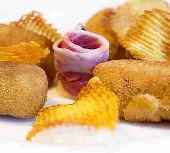 CHEF'S CROQUETTES WITH HAM