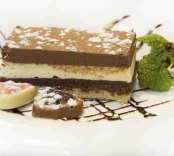3 CHOCOLATE CAKE (DARK, MILK AND WHITE)