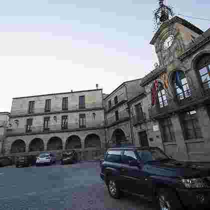 Plaza Mayor de Fermoselle