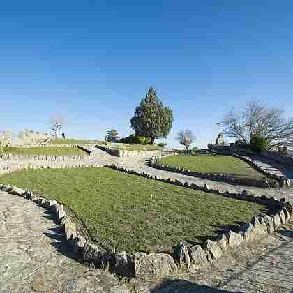 Jardín del Castillo de Fermoselle
